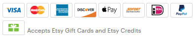 Etsy Secure Payment Options